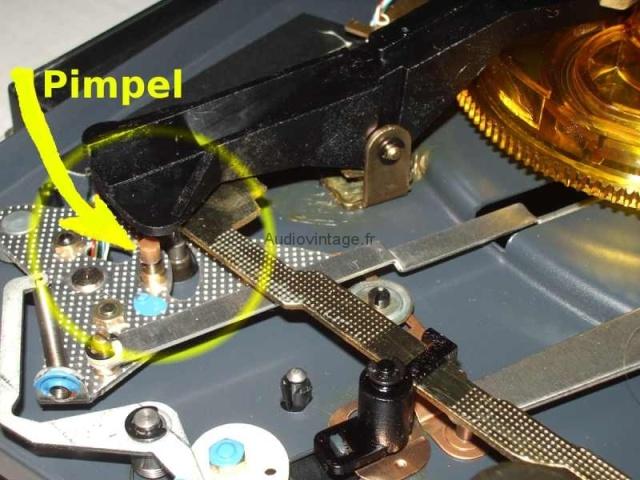 Dual 1224 : réparation du retour automatique.