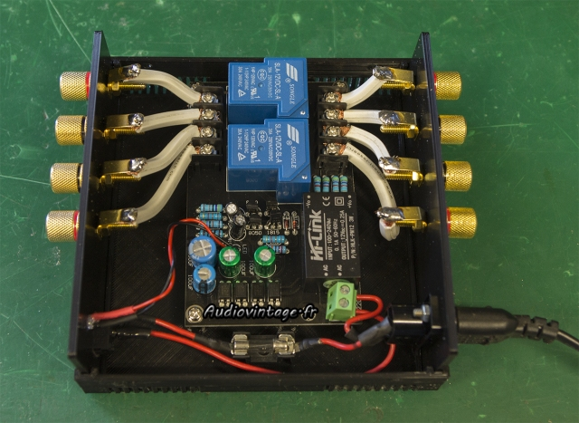 External Speaker Protector : montage.