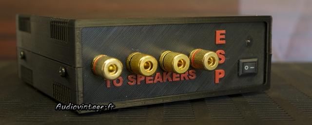 External Speaker Protector : l'ESP veille sur les enceintes.