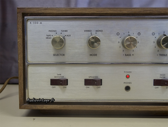 Fisher X-100-A