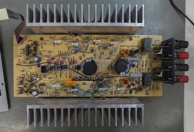 Grundig V2 : circuit principal réparé et révisé.