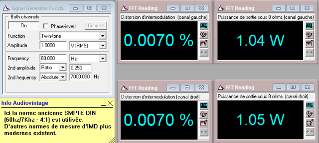 Grundig V2 : IMD-a-2x1w-sous-8-ohms-entree-CD-tone-defeat