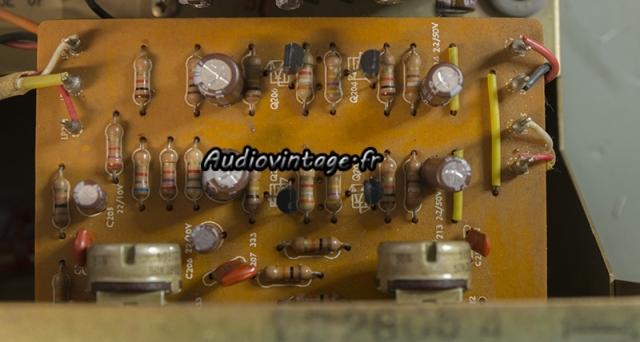 Harman Kardon A401 : circuit tonalité révisé.