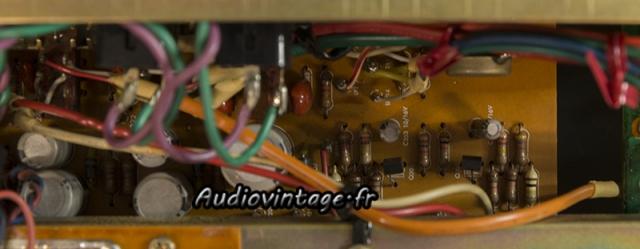 Harman Kardon A401 : circuit control/volume/mode à réviser.