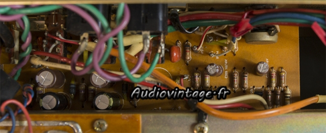Harman Kardon A401 : circuit control/volume/mode révisé.
