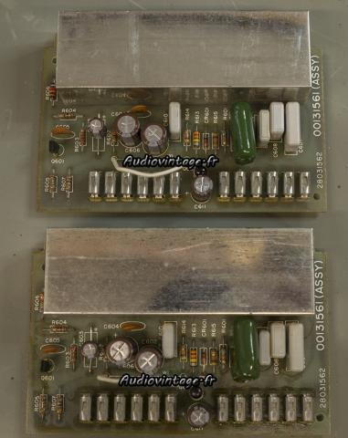 Harman Kardon Citation 11 : circuits tonalité révisés.