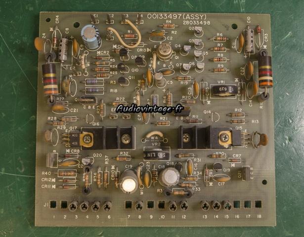 Harman Kardon Citation 16 A : circuit driver à réviser.