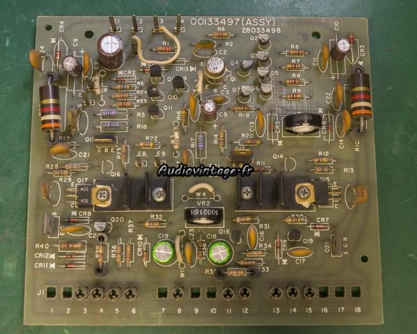 Harman Kardon Citation 16 A : circuit driver révisé.