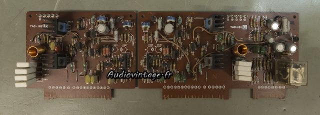 JVC M-3030 : circuit drivers à revoir.