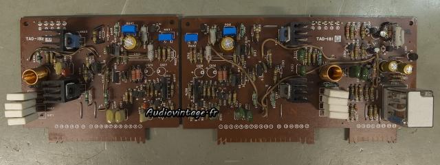 JVC M-3030 : les circuits drivers révisés.
