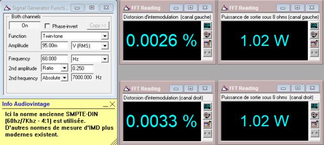 JVC M-3030 : IMD-a-2x1w-sous-8-ohms
