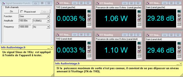JVC M-3030 : distorsion-a-2x1w-sous-8-ohms
