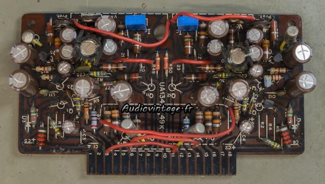 """Kenwood KA-6000 : circuit """"driver"""" révisé."""