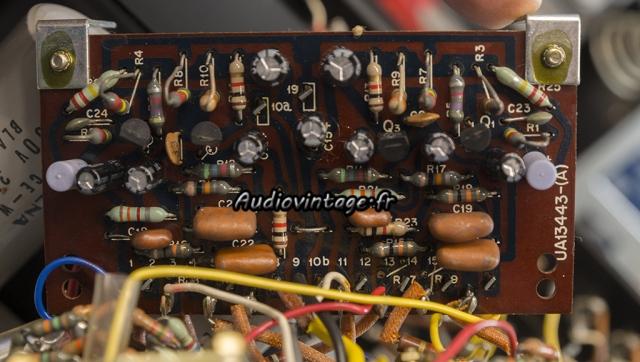 Kenwood KA-6000 : circuit de tonalité à revoir.