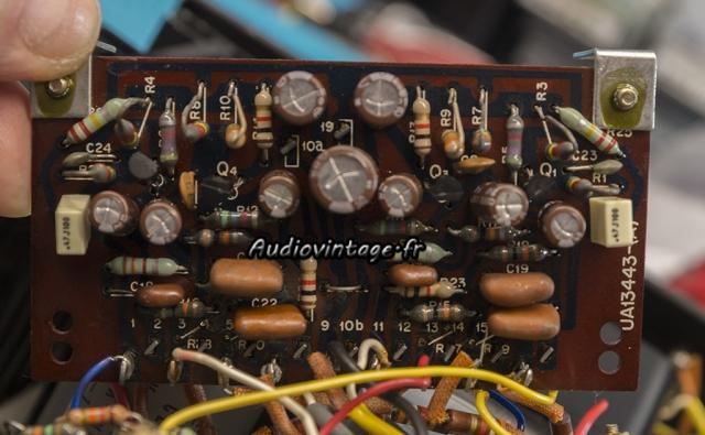 Kenwood KA-6000 : circuit de tonalité révisé.