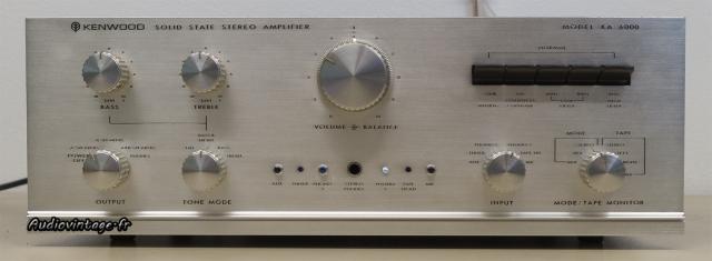 Kenwood KA-6000 : une très belle présentation et des fonctions plus que nécessaires.