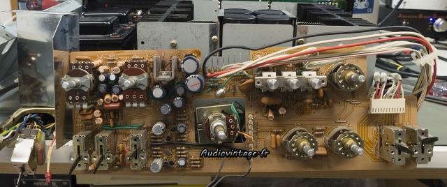 Kenwood KA-8100 : circuit de tonalité et filtres révisé.