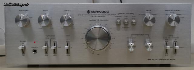 Kenwood KA-8100 : beaucoup (trop ?) de réglages.