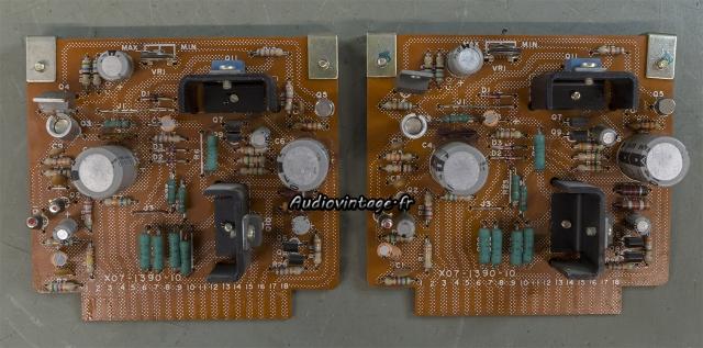 Kenwood KR-9400 : circuits drivers à revoir.