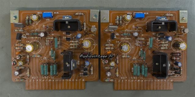Kenwood KR-9400 : circuits drivers modifiés et révisés.
