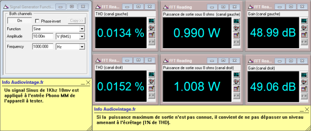 Kenwood KR-9400 : distorsion-a-2x1w-sous-8-ohms-entree-phono-tone-defeat