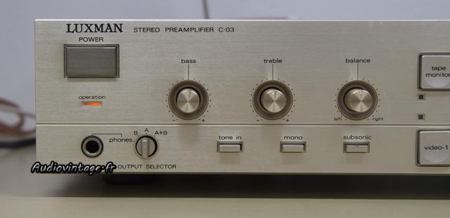 Luxman C-03