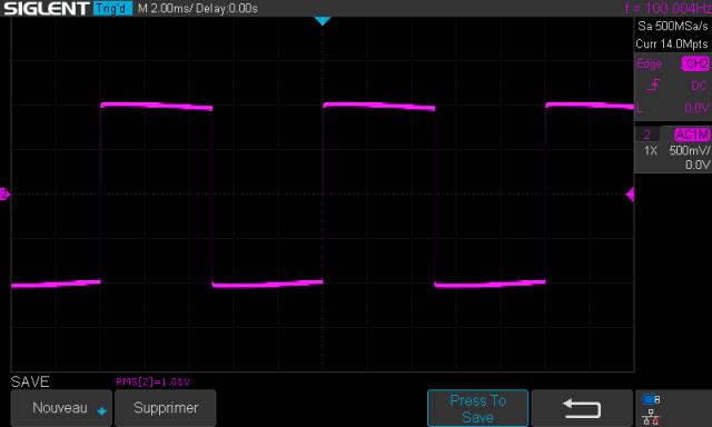 Luxman C-12 : signal-carre-a-100hz