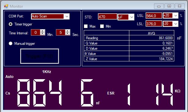 Luxman  L-308 : condensateur 470uf 6.3v HS