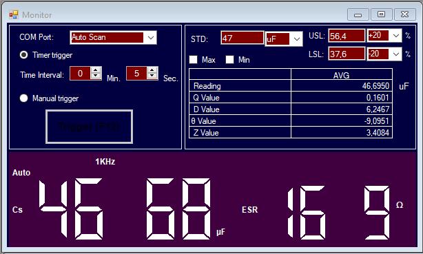 Luxman  L-308 : condensateur 47uf 10v en mauvais état.