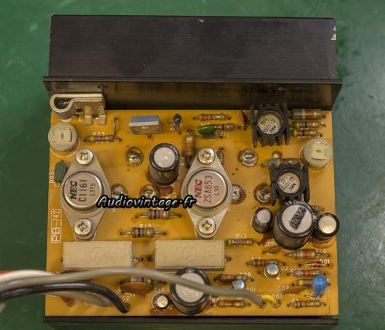 Luxman L-308 : circuit driver à réviser.