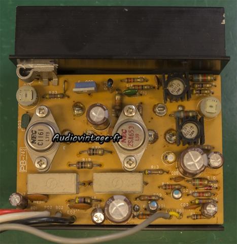 Luxman L-308 : circuit driver révisé.