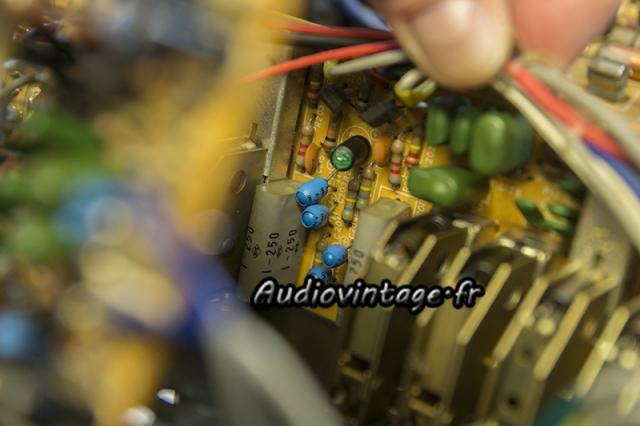 Luxman L-308 : circuit filtre à revoir.