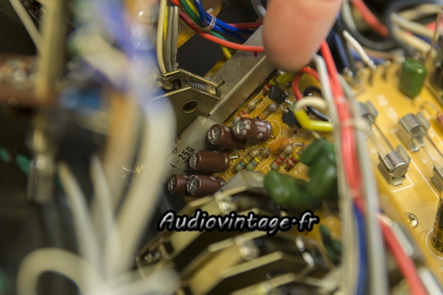 Luxman L-308 : circuit filtre revu.