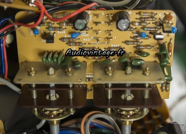 Luxman L-308 : circuit tonalité à réviser.
