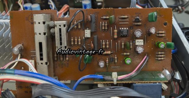 """Luxman L-410 : circuit """"volume"""" à revoir."""