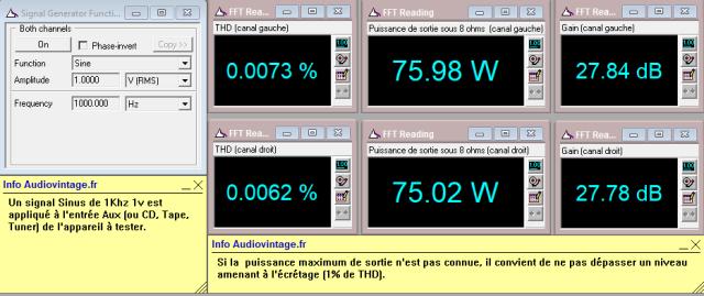 Luxman L-410 : distorsion-a-2x75w-sous-8-ohms-entree-aux-tone-defeat