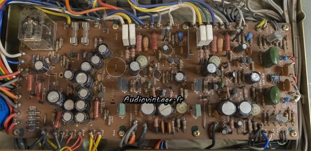 Luxman L-80 : circuit principal à revoir.