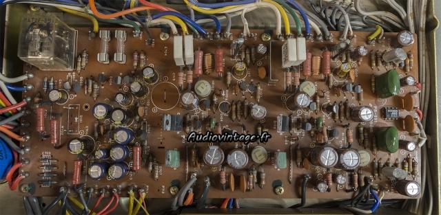 Luxman L-80 : circuit principal révisé.