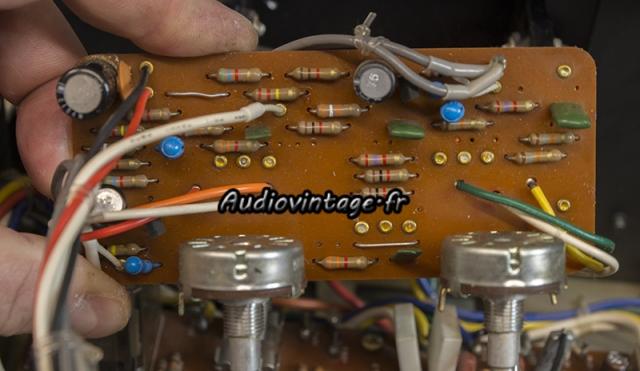 Luxman L-80 : circuit tonalité à révsier.