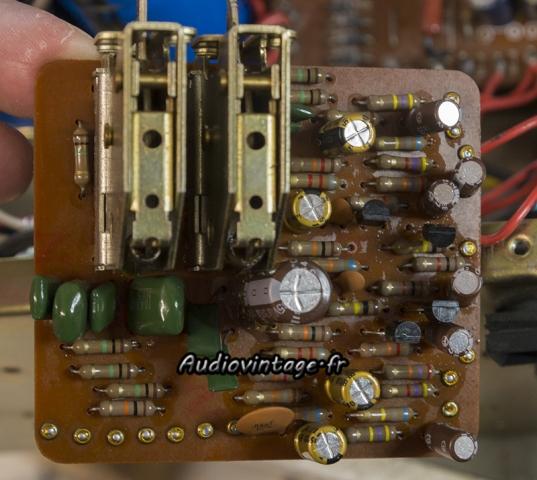 Luxman L-80 : circuit filtre révisé.