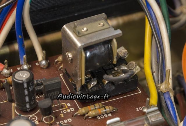 Luxman L-81 : relais shunté !