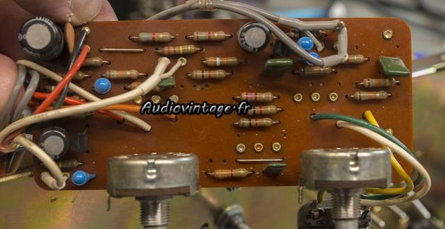 Luxman L-81 : circuit tonalité révisé.
