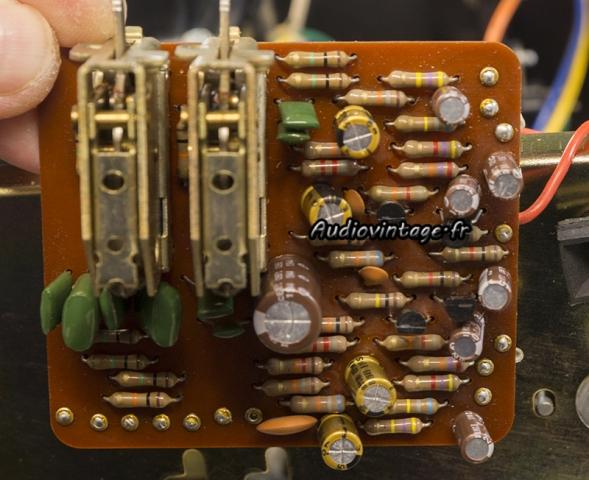 Luxman L-81 : circuit filtres révisé.