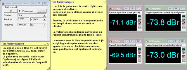 Luxman L-81 : rapport-signal-bruit-a-2x1w-sous-8-ohms-entree-aux