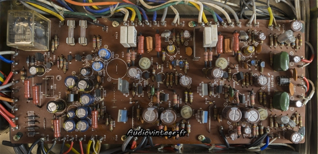 Luxman L-81 : circuit principal révisé.
