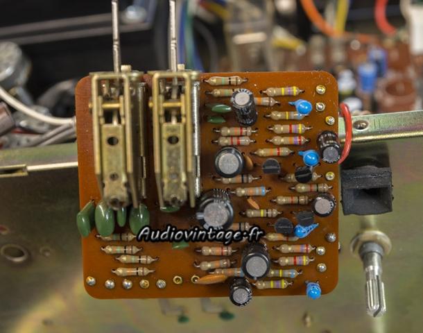 Luxman L-81 : circuit filtres à revoir.