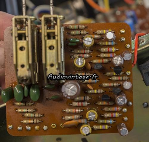 Luxman L-81 : circuit filtres revu.