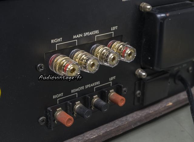 Luxman L-30 : connecteurs HP neufs.