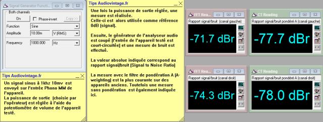 Luxman L-30 : rapport-signal-bruit-a-2x1w-sous-8-ohms-entree-phono