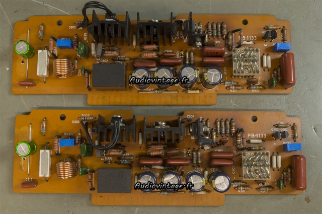 Luxman M-12 : circuits drivers révisés.